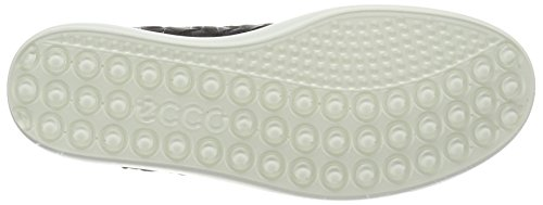 Ecco Kvinders Kvinders Bløde 7 Vævet Slips Mode Sneaker Sort gL4cvK
