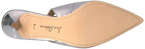 Soft Women's Leather Ludlow Pumps Edelman Sam Silver IOSxzw7qz