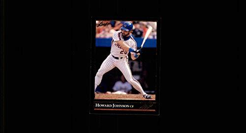 1992 Leaf BLACK GOLD #132 Howard Johnson new york mets