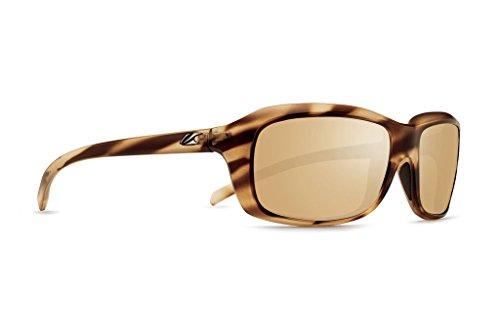 Kaenon Unisex Monterey Driftwood Brown 12-Polarized Gold Mirror One Size - Monterey Sand
