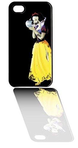 (NEW Zombie Snow White Apple iPhone 5 / 5S Black Hard Case -)