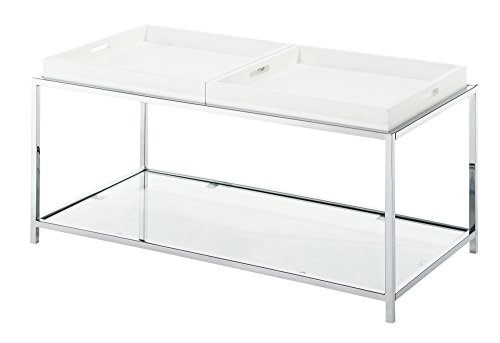 Convenience Concepts Palm Beach Coffee Table, White Review
