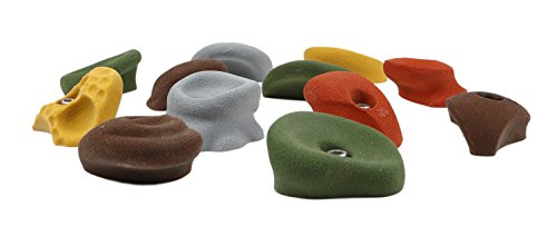 12 Large Classic Jugs | Climbing Holds | Mixed Earth Tones