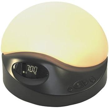 Amazon Com Biobrite Sunrise Clock Advanced Model Charcoal