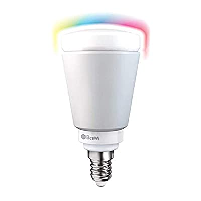 BeeWi LED Smart Lightbulbs. Multicolored RGB CMY LED Light Bulbs Decrease Energy Bills with Economical WiFi Smart Bulb Technology. Dimmable with 16 Million Colors. Energy Class A+