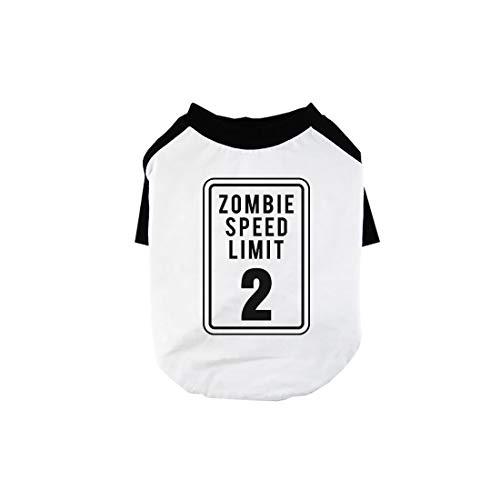 365 Printing Zombie Speed Limit Funny Halloween Pet