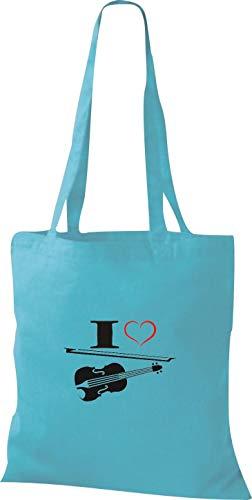 Tela Para Mujer Azul Algodón Sky Bolso De Shirtstown zTxq8CC