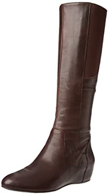 Enzo Angiolini Women's Deanja Riding Boot,Dark Brown Leather,6.5 M US