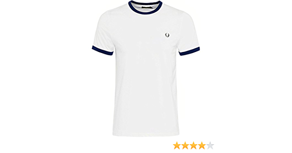 Fred Perry Fp Ringer Camiseta para Hombre