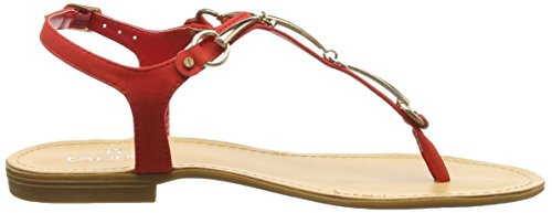Sandalias Mujer Buckle para Sandals Tantra Red with xgq0SRBAw