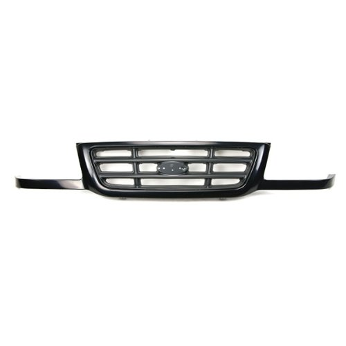 CarPartsDepot 2Wd Grill Grille Front Black / Dark Argent Assembly Fo1200393 3L5Z8200Aa (Grille Ford Ranger 2003)