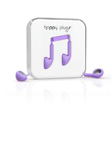 Happy Plugs Earbud Earphones - Lavender