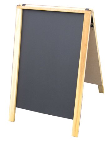 neoplex-24-x-36-hardwood-sidewalk-sandwich-board-a-frame-sign-with-chalkboard-surfaces-natural-light