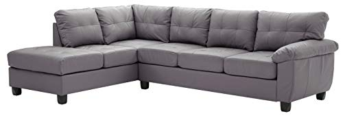 Glory Furniture Gallant G912B-SC Sectional, Gray. Living Room Furniture 32