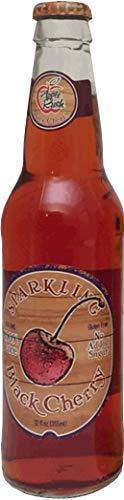 Apple Rush all natural 100% sparkling juice, 12 oz 12 pack black cherry