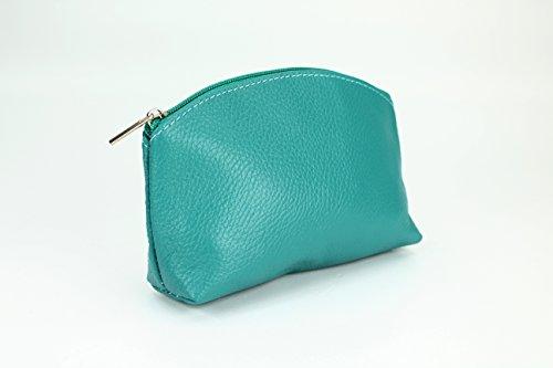 """Bellini"" BELLI westhome pelle TROUSSE compone la Cassa - libera scelta dei colori - 18 x 13 x 5 cm (B x T) Verde (Verde)"