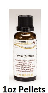 Newton Labs Homeopathics Remedy Constipation 1oz Pellets ( 2 Pack)