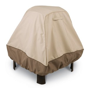 Classic Accessories Veranda Fire Pit Cover - Stand Up (Veranda Pebble)