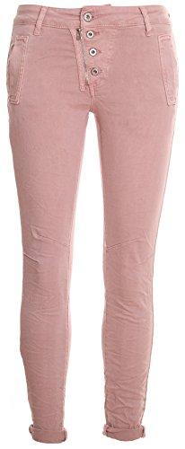Basic Rosa Und 4 Camicia de Donna Reißverschluss knopf qPq4ZSw