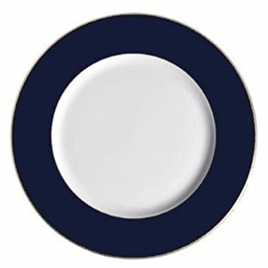 Richard Ginori Cobalt Blue Rimmed Charger with Gold Trim 12-inch