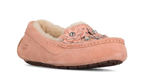 UGG Women's Ansley Petal Slipper in Holiday Box (7 M, Tropical Peach) by UGG