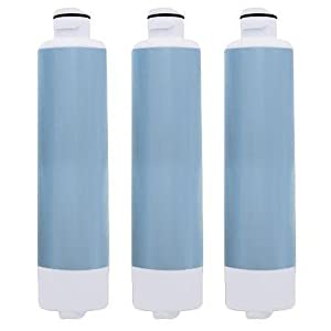 Replacement Water Filter Cartridge for Samsung Refrigerator Models RF323TEDBSR / RS25J500DBC (3 Pack)