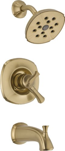 Delta T17492-CZ Addison Monitor 17 Series Tub and Shower Trim, Champagne Bronze ()