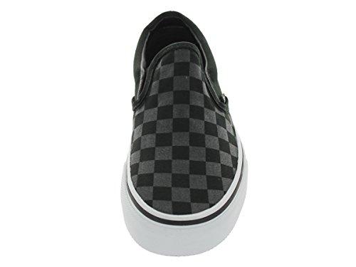Vans U Authentic, Zapatillas De Deporte Unisex (checkerboard) Black/black Check