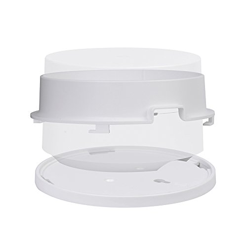 Wall Mount Holder Ceiling Mount Bracket for Google Wifi, ABS, White (1-Pack)