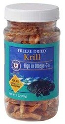 San Francisco Bay Brand Freeze Dried Krill 1oz (28g) Jar