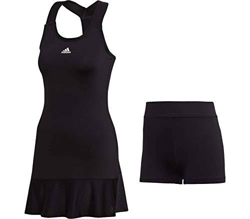 adidas Y Damen Tenniskleid schwarz - XS