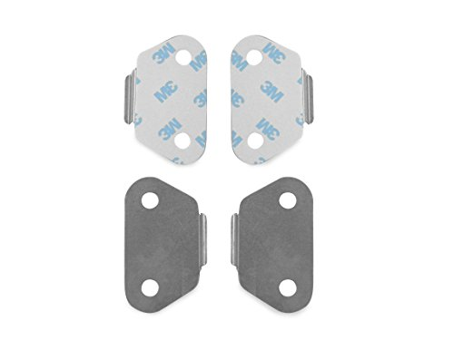Bikers Choice 302459 Cover Wear Plates for Saddlebag (Plate Wear)