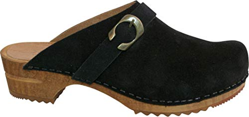 Uk Size Clog Hedi 4 Sanita 37 Black Open Eu RwgT0qS4
