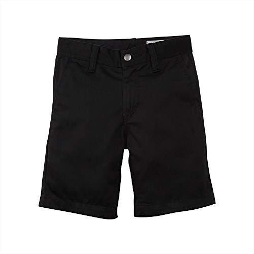 Volcom Boys' Little Frickin Chino Short, Black, 7