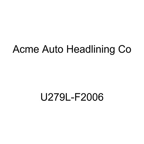 Acme U279L-F2006 Front Black Leather Bench Seat Upholstery