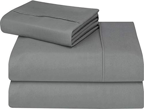 Utopia Bedding 3-Piece Twin XL Bed Sheets Set (Grey)