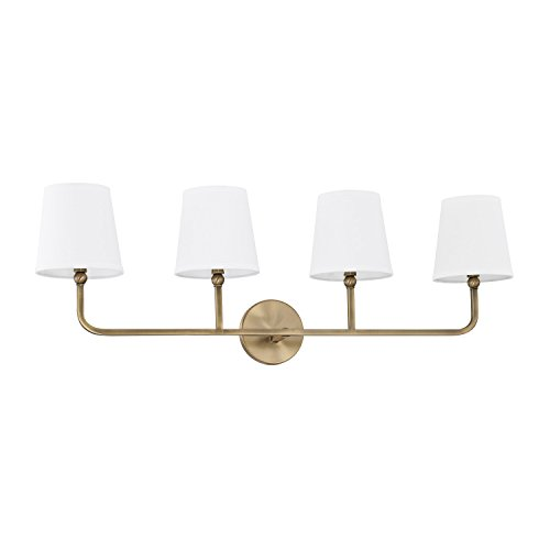 Capital Lighting 119341AD-674 Four Light Vanity - Capital Lighting Four
