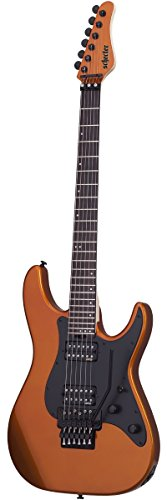 Schecter 1281 Solid-Body Electric Guitar, Lambo Orange