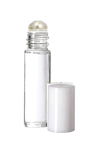 0f54aaa9b8d2 Amazon.com: Aromatherapy Plain Glass Roll on Bottles - Slim Tall 5 ...