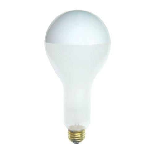 Bulbrite 200PS30F/SB Inside Frost Half Chrome 200W Pear Shape Bulb
