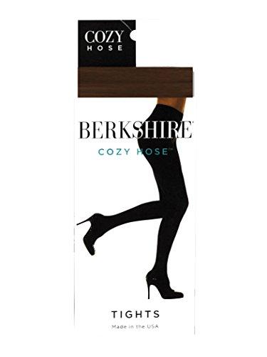 Berkshire Women's Cozy Hose Tights, Chocolate, Medium