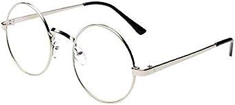 ZODOF Clasico Marco Redondo Espejo Gafas de Sol de Moda Gafas de ...