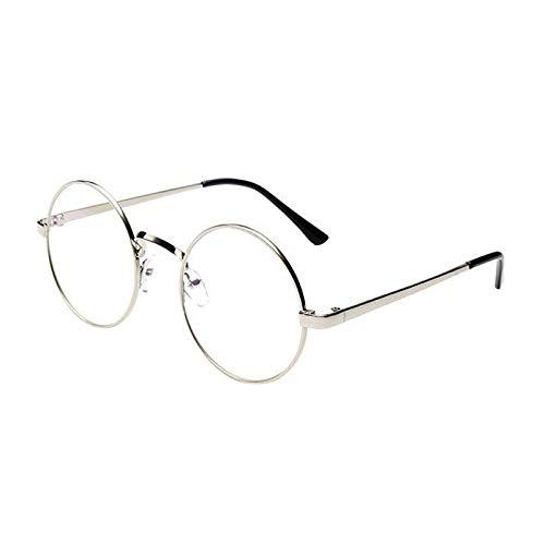 ZODOF Clasico Marco Redondo Espejo Gafas de Sol de Moda ...