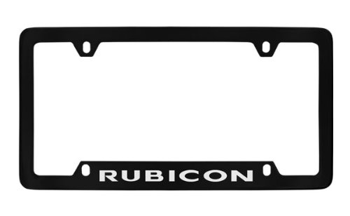 jeep rubicon license plate frame - 1