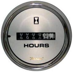 "B00PACDR0S Faria 19020 Kronos Hourmeter Gauge 10,000 Hours-12-32VDC, 2\"" 616cOJJOhqL"