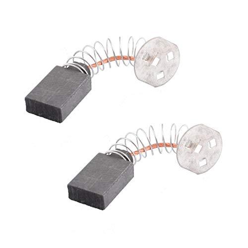 Femitu DW705 DW708 Carbon Brushes Set Replacement For DeWalt Chop Saw Brushes145323-06 145323-02 145323-03 (Pack of 2)