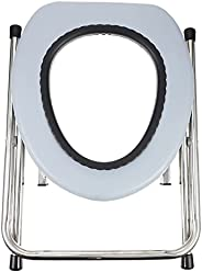 Portable Toilet Seat,Stainless Steel Portable Toilets Lightweight Camp Toilet Seat Perfect for Trips and Campi