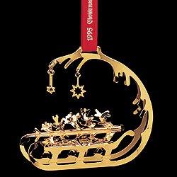 Georg Jensen Christmas Ornament 1995  Sleigh Amazoncouk