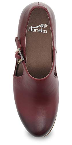 Dansko Bootie Hollie Calf Cutout Burnished Wine xxpwdaEr
