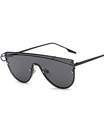 a5ca209562c62 VAXT Manoeuver Vintage Rimless Alloy Frame UV400 Protective Sunglasses for  Men Women (SKU   Hc2053c